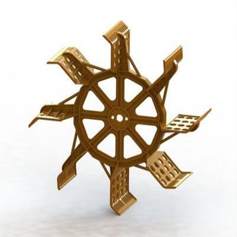 水车式增氧机 叶轮